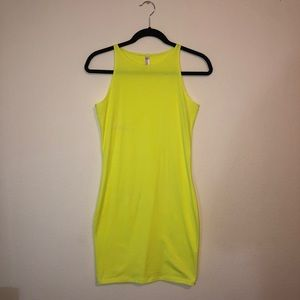 American Apparel Neon Dress